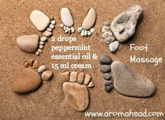 Perfect for a long day on your feet. Learn to make your own massage oils and body creams - naturally at Aromahead Institute! http://www.aromahead.com/