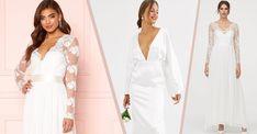 Brudklänningar 2020: 30 fina köp under 3 000 kronor   Vita