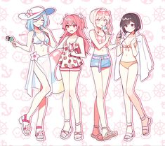 Anime Girl Drawings, Anime Art Girl, Cute Drawings, Anime Oc, Anime Demon, Sasunaru, Cute Anime Character, Character Art, Mochi