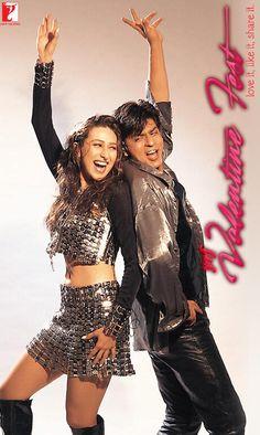 Madhuri Dixit, Karisma Kapoor, and Shah Rukh Khan in Dil To Pagal Hai Bollywood Outfits, Bollywood Couples, Bollywood Stars, Bollywood Fashion, Shah Rukh Khan Movies, Shahrukh Khan, Srk Movies, Karisma Kapoor, Sr K