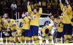 Sweden wins hockey world championship at home 2013! :-D
