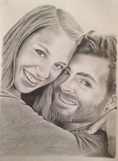 my sister and her (then fiancee) husband. This was my wedding gift ...
