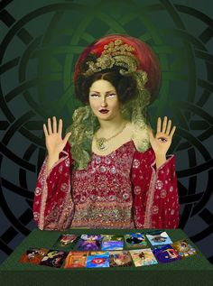 The Fortune Teller. Rock Posters, Concert Posters, Gypsy Fortune Teller, Rider Waite Tarot, All Souls, Tarot Card Decks, Fortune Telling, Tarot Readers, Boho Gypsy