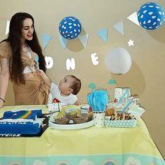 Baby Birthday, First Birthdays, Sons, Rainbow, First Anniversary, Rain Bow, Guys, Toddler Boy Birthday, Children