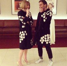 """Stessa pelliccia per la prima newyorkese de """"Il grande Gatbsy"""", a scegliere il capo firmato Prada sono due state due icone della moda internazionale. Si tratta di Anna Wintour, direttrice di Vogue America, e dello stilista Marc Jacobs"""