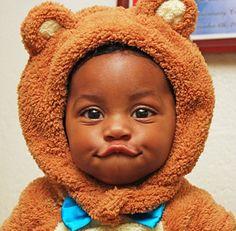 Popular african-american baby names So Cute Baby, Cute Black Babies, Beautiful Black Babies, Black Kids, Beautiful Children, Little Babies, Baby Love, Cute Kids, Cute Babies