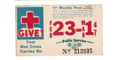 Weekly pass from Saint Louis (Missouri) Public Service Company (1947)