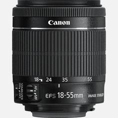 Afbeelding van Canon EF-S 18-55mm f/3.5-5.6 IS STM lens