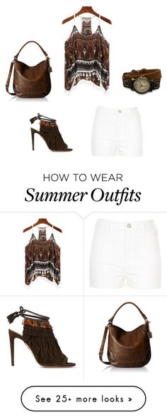 """Collection Of Summer Styles    """"summer outfit"""" by meant2bead on Polyvore featuring River Island, Aquazzura, BillyTheTree and Frye    - #Outfits  https://fashioninspire.net/fashion/outfits/summer-outfits-summer-outfit-by-meant2bead-on-polyvore-featuring-river-island-aquazzura-bil/"""