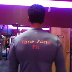 Tone zone fit workout  tshirts!
