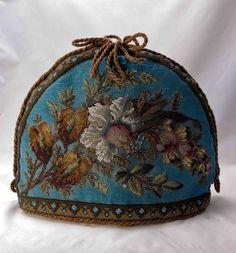 Antique Victorian Beadwork Tea Cosy - NO RESERVE