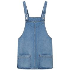 MANGO Denim Dungarees ($60) ❤ liked on Polyvore featuring jumpsuits, denim dungaree, embellished jumpsuit, mango jumpsuit, blue jumpsuit and denim jumpsuits