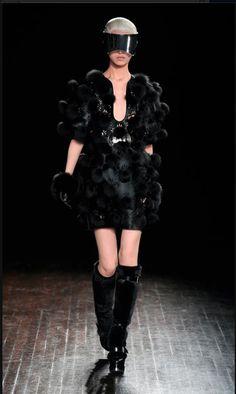 #mcqueen a/w 2012, punkrock haute couture.
