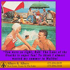 Bob always knows... #lakeoftheozarks #albersandalbers #realestate  Real Estate Humor