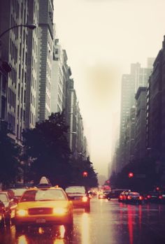 New York with extra rain by ~beccatiendoh on deviantART