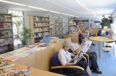 Biblioteca Montbau - Albert Pérez Baró (Horta-Guinardó, Barcelona) barcelona_montbau_02 | Flickr: Intercambio de fotos
