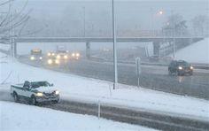 Intensas nevadas en el medio oeste de EEUU - http://a.tunx.co/f3CQe