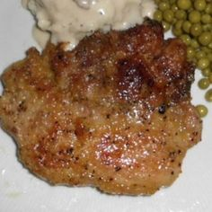 Check it out Melt in your mouth Pork Chops Recipe Oven Pork Chops, Breaded Pork Chops, Boneless Pork Chops, Baked Pork, Pork Ribs, Pork Chop Recipes, Meat Recipes, Cooking Recipes, Healthy Recipes