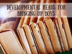 A list of 12 books about parenting and bringing up boys - one for each month of the year.  My news years resolution for 2016!!