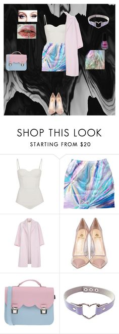 """""""Sans titre #98"""" by emilyfob ❤ liked on Polyvore featuring sass & bide, Paul Smith, Semilla and La Cartella"""