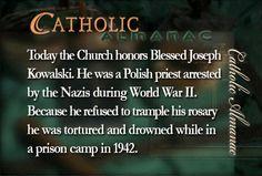 #BlessedJosephKowalski #prayforus