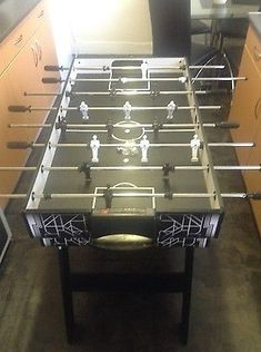 #Hy-pro 4 in 1 #multi game #table - football - pool - tennis - hockey - used once,  View more on the LINK: 	http://www.zeppy.io/product/gb/2/272460300376/