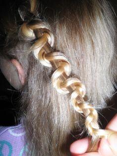 Κοτσίδα ζιγκ – ζάγκ ή φίδι (snake braid)