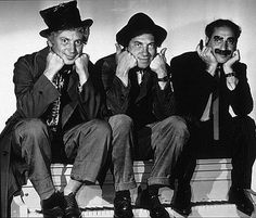 (Harpo, Chico and Groucho Marx) Featured Filmmaker: Groucho Marx via IGN article
