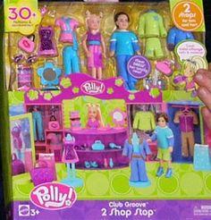 7. Polly Pockets.