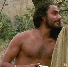 Naveen Andrews in the English Patient