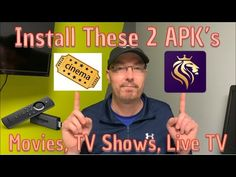 I'll show you two apps for movies and TV shows. The second APK actually goes above and beyond that to offer live TV, live Sports, apps to install, it's a wor. Tv Hacks, Netflix Hacks, Amazon Fire Stick, Amazon Fire Tv, Free Tv And Movies, Movies And Tv Shows, Cable Tv Alternatives, Watch Live Tv Online, Free Software Download Sites