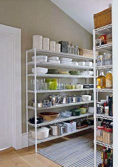 The organized pantry ...