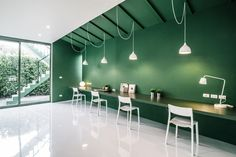 Green 26 TV production office by Anonym, Bangkok - Thailand (Retail Design Blog…