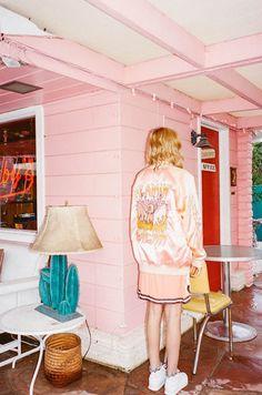 Staz Lindes Stars In Emma Mulholland's Rad Editorial Shoot