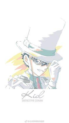 Dc Anime, Anime Demon, Anime Manga, Anime Art, Magic Kaito, Kaito Shion, Kaito Kuroba, Conan Comics, Detektif Conan