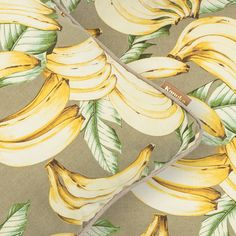Kanuka Collective Plantain Cushion Cover // Brighten up any space with a pop of the tropics. Made in New Zealand. Shop - www.kanuka.co #linen #luxe #cushion #interiors #banana #print #kanukacollective #palmparadise #nzmade