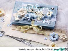 """Freetany Flowers: Обзор мини-альбома для """"Маленького принца"""" Вдохновение от Кати Альберти Scrapbook Travel Album, Mini Scrapbook Albums, Baby Scrapbook, Scrapbook Cards, Diy Mini Album, Minis, Diy Crafts For Gifts, Book Making, Baby Cards"""