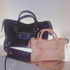 Alexander wang for Balenciaga    blush and black    cross body     Balanciaga · Balenciaga BagCross ... 074579fed77c3
