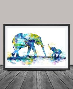 Hey, I found this really awesome Etsy listing at https://www.etsy.com/listing/231171371/large-abstract-painting-elephant-art