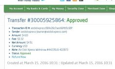 AdClikXpress Withdrawal Proof no 30 ! I am getting paid daily at ACX and here is proof of my latest withdrawal. This is not a scam and I love making money online with Ad Click Xpress. Here is my Withdrawal Proof from AdClickXpress. I get paid daily and I can withdraw daily.