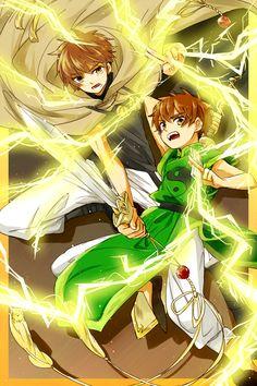 Tags: Anime, Tsubasa: RESERVoir CHRoNiCLE, Cardcaptor Sakura, Fanart, Li Syaoran