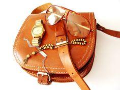 mon sac à main vintage + montre EDOX vintage + Carrera lunettes vintage