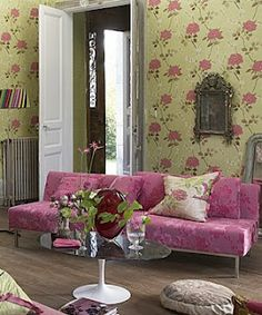 Designers Guild create inspirational home décor collections and interior furnishings including fabrics, wallpaper, upholstery, homeware & accessories. Designers Guild, Luxury Home Decor, Luxury Homes, Architecture Design, Casamance, Apartment Chic, Home Garden Design, Pretty Room, Interior Decorating
