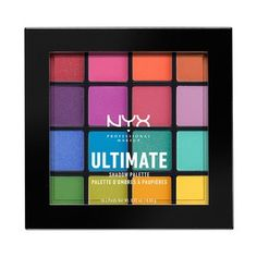 NYX Prof. Makeup Ultimate Eyeshadow Palette Brights USP04