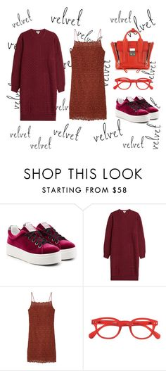 """""""xx"""" by uvhaa ❤ liked on Polyvore featuring Kenzo, MANGO and 3.1 Phillip Lim"""