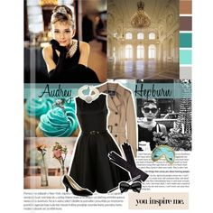 """""""Audrey Hepburn"""" by aymuchis on Polyvore"""