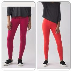 New Lululemon Wunder under pant III reversible Brand new with tag, sizes: 4, 6. Reversible. lululemon athletica Pants Leggings