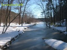 My precious little #river, #frozen after a sudden #snowfall. #FascinationEarth #Snow #Ice