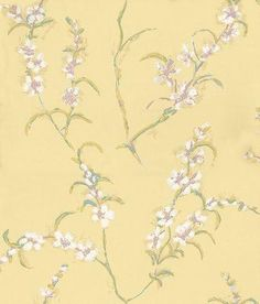 Japonica wallpaper by Anna French