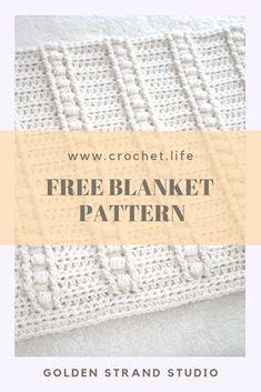 Free Blanket Pattern – Bulky, easy crochet pattern by GoldenStrandStudi… / cro… Free Blanket Pattern – Bulky, easy crochet pattern by GoldenStrandStudi… / crochet.life Related posts:Crochet Baby Girl Shoes In 15 MinutesZauberhafte Schminktipps für. Crochet Afghans, Crochet Baby Blanket Free Pattern, Crochet For Beginners Blanket, Crochet Square Patterns, Afghan Crochet Patterns, Crochet Squares, Crochet Designs, Chunky Crochet Blankets, Crochet Square Blanket